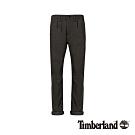 Timberland 男款炭黑色斜紋布彈性修身錐形休閒長褲|A1WGQ