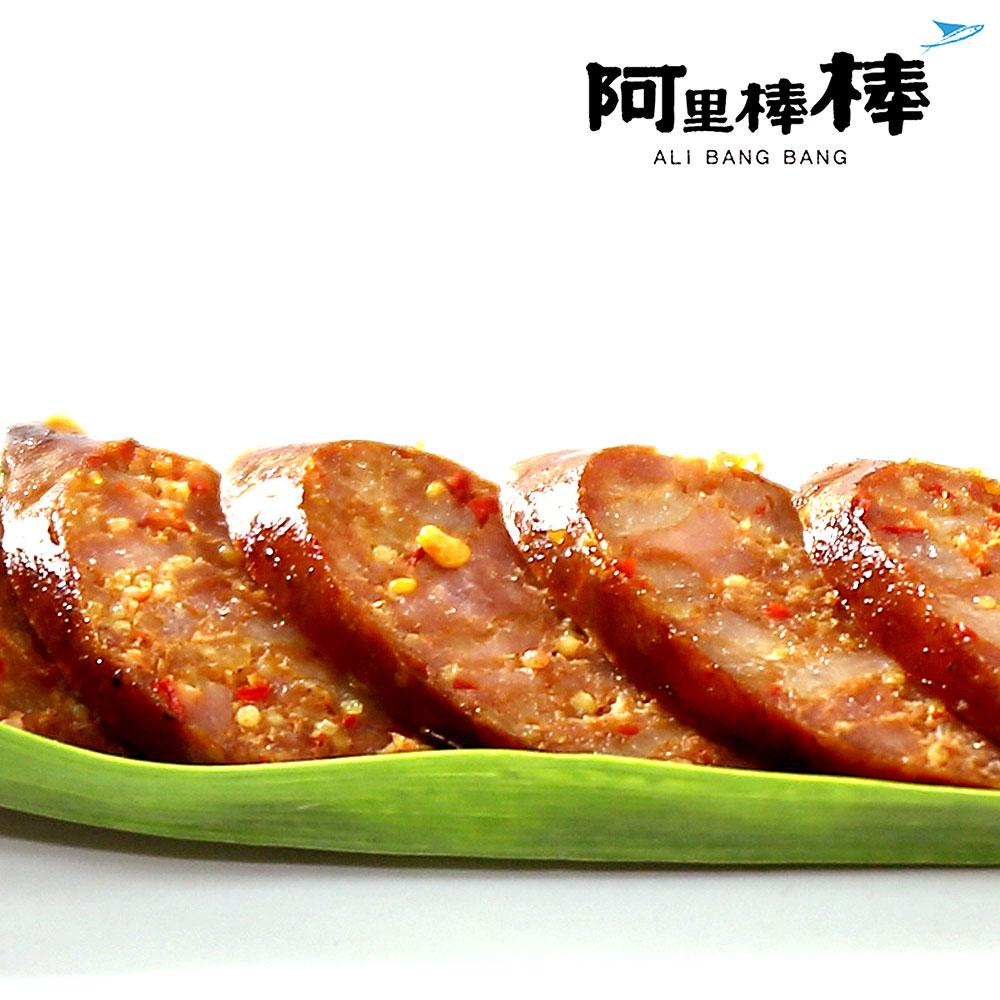 阿里棒棒 麻辣飛魚卵香腸(300g/包,共三包)