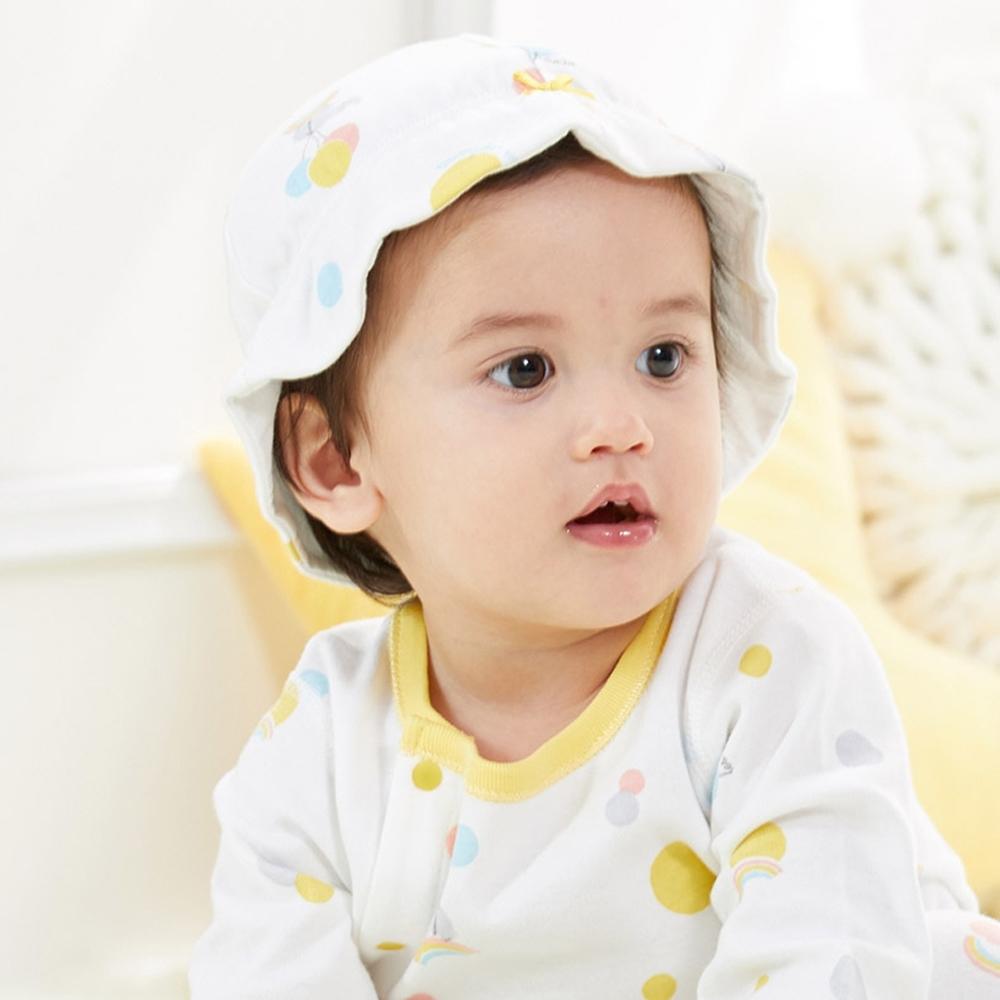 【麗嬰房】Cloudy雲柔系列 休閒小象印花休閒帽 (3-6個月)
