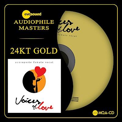 愛情萬歲!全球美聲歌后精選 24KT Gold MQACD