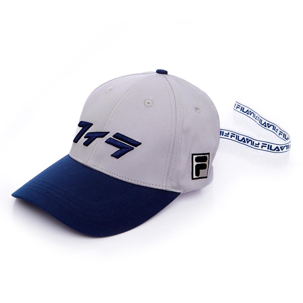 FILA 經典款六片帽-灰 HTS-1001-MY