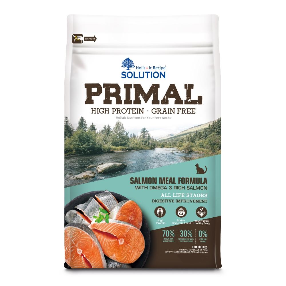 耐吉斯 源野高蛋白 無穀全齡貓 鮭魚配方 3磅