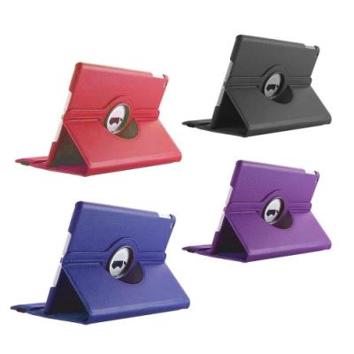 DW LR03專業款荔枝旋轉9.7吋iPad平板保護皮套