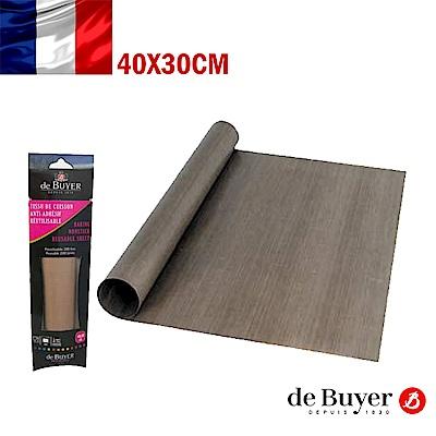 法國de Buyer畢耶烘焙 不沾烘焙墊40x30cm(2入/組)