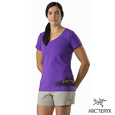 Arcteryx 24系列 女 有機棉 Remote 短袖T恤 木槿紫