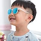 美國Hipsterkid 抗UV偏光奢華嬰幼兒童太陽眼鏡(附固定繩) - 冰霜