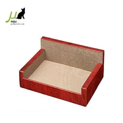 日本Gari Gari Wall(MJU)沙發型貓抓板(貴妃椅)(AIM-CAT005) (購買第二件贈送寵鮮食零食1包)
