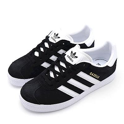 ADIDAS-中大童休閒鞋BB2507-黑