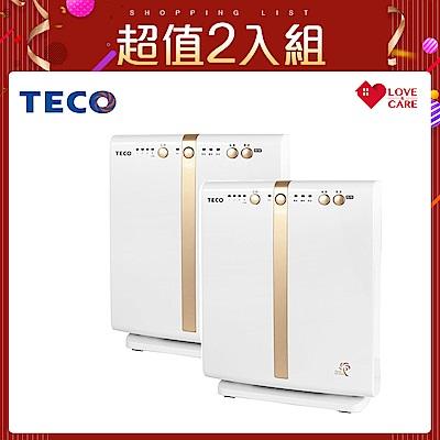 (超值2入組)TECO東元 負離子空氣清淨機 NN1601BD
