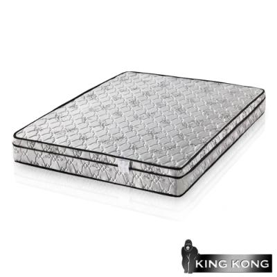 金鋼床墊 三線高級緹花布加強護背型3.0硬式彈簧床墊-單人特大4尺