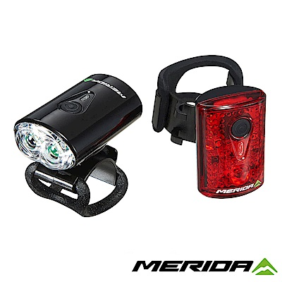 《MERIDA》美利達 USB前後車燈組 黑 2127003723