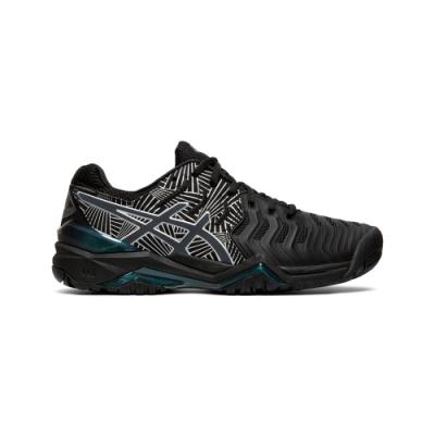 ASICS GEL-RESOLUTION 7 L.E. 網球鞋 女 (黑)