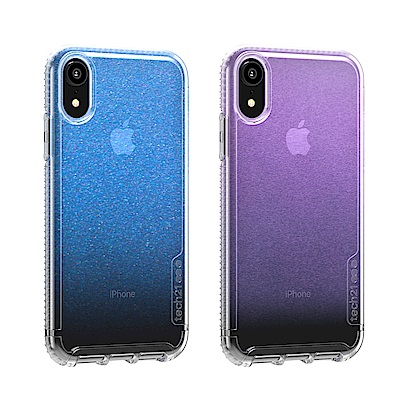 Tech 21英國超衝擊PURE Shimmer 防撞硬式保護殼-iPhone XR