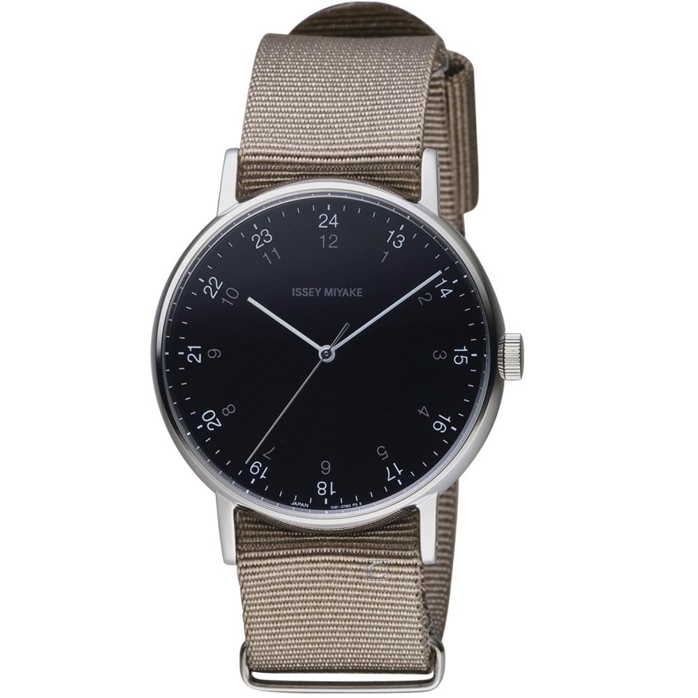 ISSEY MIYAKE三宅一生f系列雙時刻腕錶(NYAJ004Y VJ21-0360U)