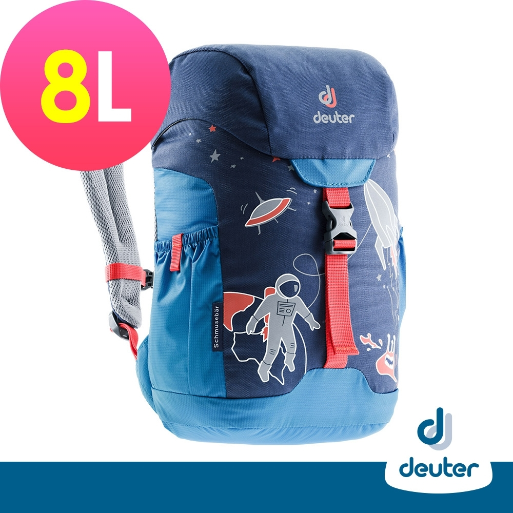 【deuter德國】SCHMUSEBAR 8L兒童背包/書包/旅遊包3612020深藍/藍
