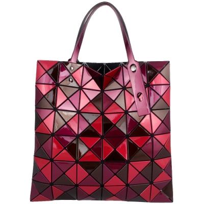 ISSEY MIYAKE 三宅一生BAOBAO 彩色拼圖方格6x6手提包(紅色)