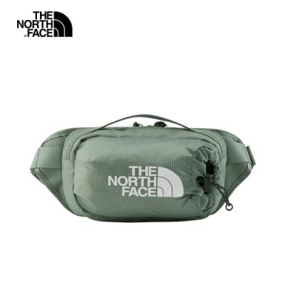 The North Face北面男女款綠色便捷休閒腰包|52RWV38