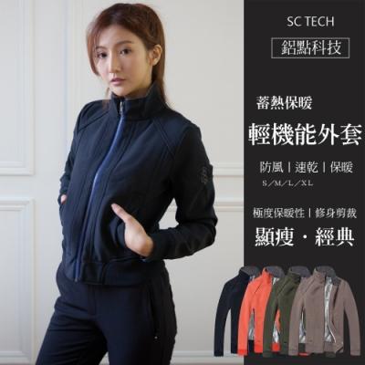 Secret Closet-鋁點科技蓄熱保暖輕機能外套-桔色