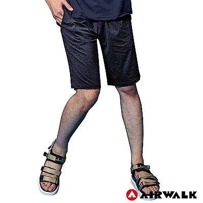 【AIRWALK】男款休閒短褲-黑色
