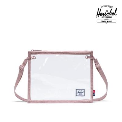 【Herschel】Alder 斜背包-透明粉