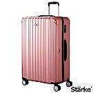 Starke 旅人系列 29吋TSA海關鎖拉鏈行李箱 -玫瑰金