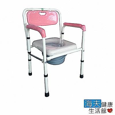 海夫健康生活館 富士康 鐵製 軟墊 折疊式 便盆椅 (FZK-4221)