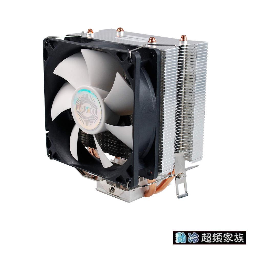 EVERCOOL冰舞雙熱管CPU散熱器HPR-9225EA