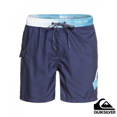 【QUIKSILVER】 CRITICAL VOLLEY 17 衝浪褲 藍