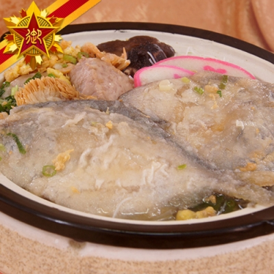 任選-五星御廚養身宴 鯧魚炊粉煲