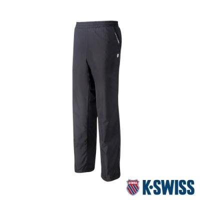 K-SWISS Sloid Track Pants 2防風長褲-男-黑