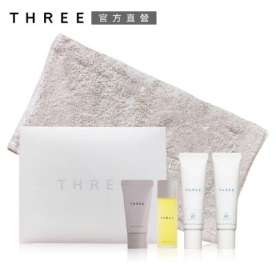 THREE 平衡UV防護乳買2送3組