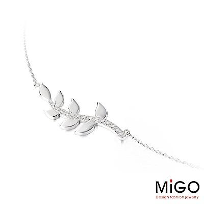 MiGO 希望白鋼項鍊