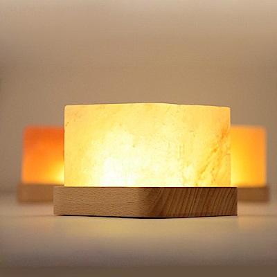 喜馬拉雅 天然負離子水晶鹽燈/小夜燈 開運能量
