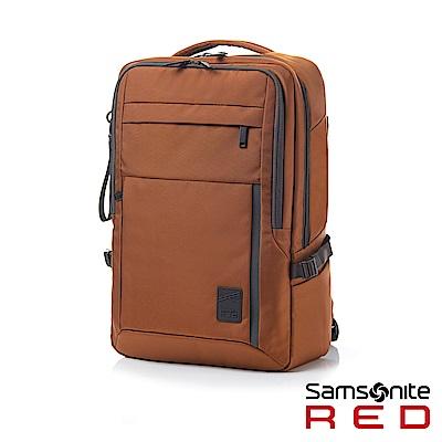 Samsonite RED PLANTPACK 2 輕量簡約筆電後背包L15.6(橘)