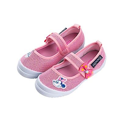 迪士尼童鞋 米妮 輕量透氣休閒鞋-粉