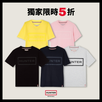 [時時樂] HUNTER - 女裝-經典LOGO短袖T - 五款