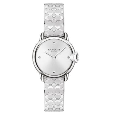 COACH 經典LOGO手環腕錶28mm(14503691)