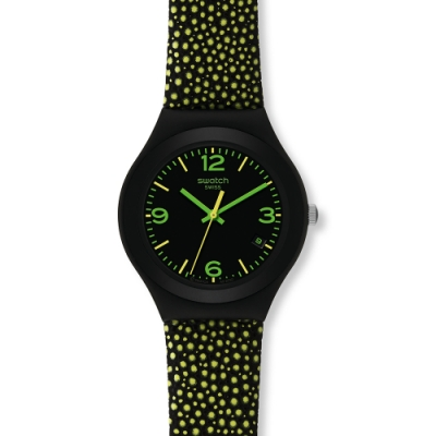 Swatch Irony 金屬系列手錶 YELLOW DROPS -37.4mm