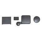 GoPro防水鏡頭蓋電池插槽背蓋套組ALCAK-302.防刮傷小蟻運動攝影機相機鏡頭保護蓋