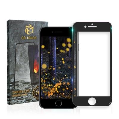 DR.TOUGH硬博士 iPhone 8 Plus /7 Plus 3D曲面滿版保護貼-黑