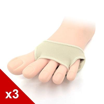 糊塗鞋匠 優質鞋材 D36 三孔矽膠前掌套 (3雙)