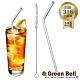 GREEN BELL綠貝316不鏽鋼防刮舌彎吸管-附刷 (口徑0.6cm) product thumbnail 1