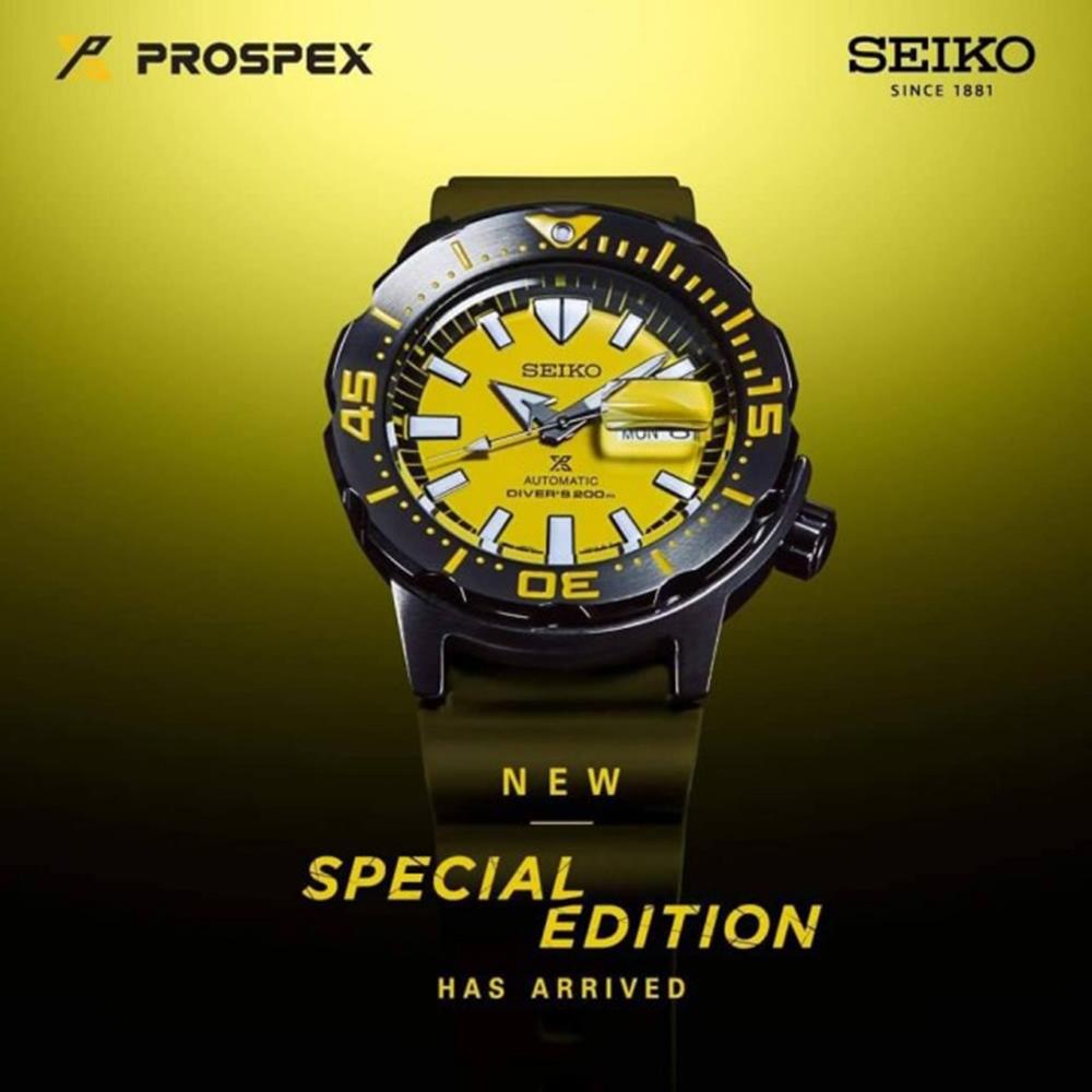 SEIKO 精工 PROSPEX 深海潛龍潛水機械錶(SRPF35K1/4R36-08B0Y)42.4mm