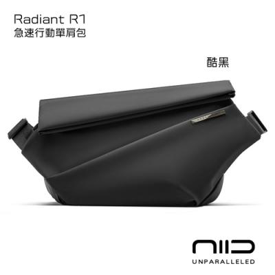NIID 極速行動單肩包 Radiant R1 酷黑