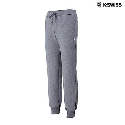 K-Swiss KS Sweatpants保暖運動長褲-男-灰 @ Y!購物