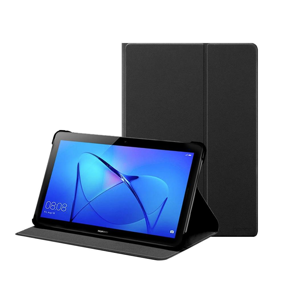 榮耀honor MediaPad T3 10吋 原廠翻蓋書本式皮套-黑色 (盒裝)