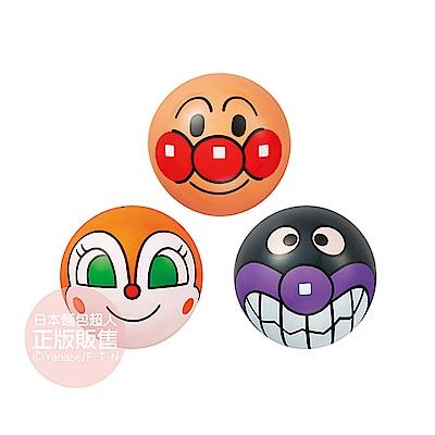 麵包超人-麵包超人3號大臉小皮球組(3入)