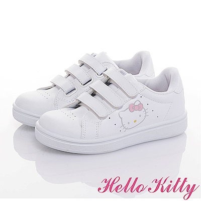 HelloKitty 親子鞋-輕量抗菌防臭減壓休閒童鞋-白