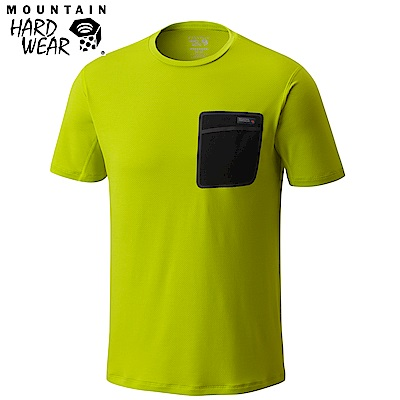 Mountain Hardwear 男款- 防曬50快乾柔質短袖上衣-綠色