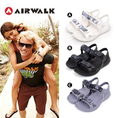 [時時樂限定]AIRWALK AB PLUS 防水輕量涼鞋-成人/童-六款任選